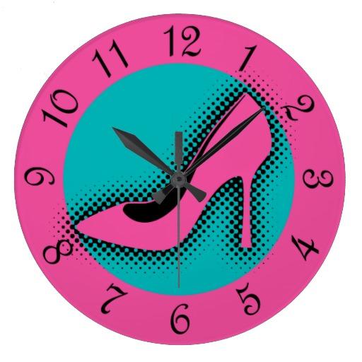 retro_pink_high_heel_round_clocks-rfd8eb8405d5a44ec94f368af8ad32e78_fup13_8byvr_512